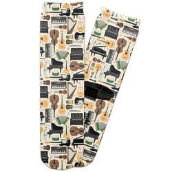 Musical Instruments Adult Crew Socks (Personalized)