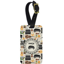 Musical Instruments Aluminum Luggage Tag (Personalized)