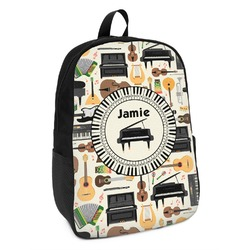 Musical Instruments Kids Backpack (Personalized)