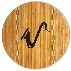 Musical Instruments Bamboo Cutting Board (Personalized)