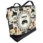 Musical Instruments Beach Tote Bag (Personalized)