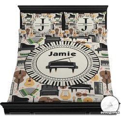 Musical Instruments Duvet Cover Set (Personalized)