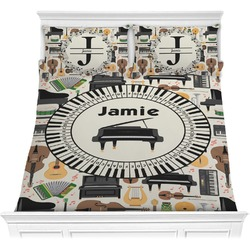 Musical Instruments Comforter Set (Personalized)