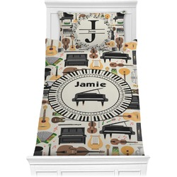 Musical Instruments Comforter Set - Twin XL (Personalized)