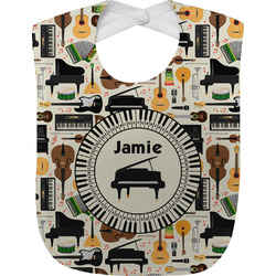 Musical Instruments Baby Bib (Personalized)