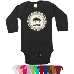 Musical Instruments Bodysuit - Black (Personalized)