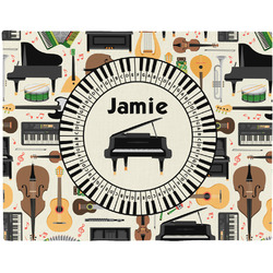 Musical Instruments Placemat (Fabric) (Personalized)