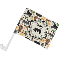 Musical Instruments Car Flag (Personalized)
