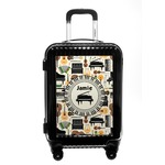 Musical Instruments Carry On Hard Shell Suitcase (Personalized)