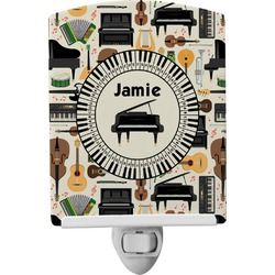 Musical Instruments Ceramic Night Light (Personalized)