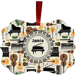 Musical Instruments Ornament (Personalized)
