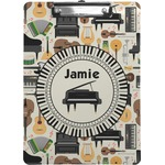 Musical Instruments Clipboard (Personalized)