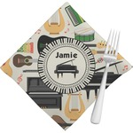 Musical Instruments Napkins (Set of 4) (Personalized)