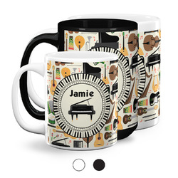 Musical Instruments Coffee Mugs (Personalized)