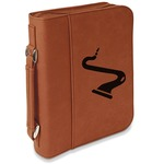 Musical Instruments Leatherette Book / Bible Cover with Handle & Zipper (Personalized)