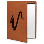 Musical Instruments Leatherette Portfolio with Notepad (Personalized)
