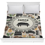 Musical Instruments Comforter (Personalized)
