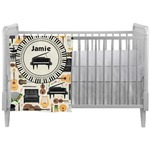 Musical Instruments Crib Comforter / Quilt (Personalized)