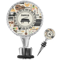 Musical Instruments Wine Bottle Stopper (Personalized)