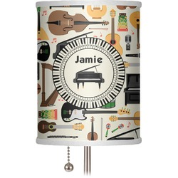 """Musical Instruments 7"""" Drum Lamp Shade (Personalized)"""
