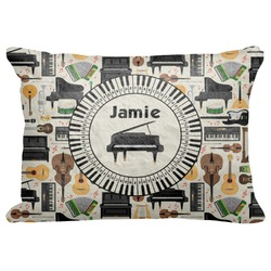 """Musical Instruments Decorative Baby Pillowcase - 16""""x12"""" (Personalized)"""