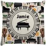 Musical Instruments Decorative Pillow Case (Personalized)
