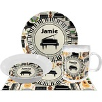 Musical Instruments Dinner Set - 4 Pc (Personalized)