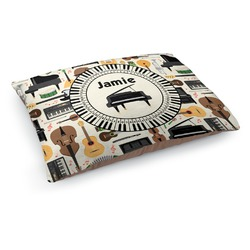 Musical Instruments Dog Bed - Medium w/ Name or Text