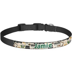 Musical Instruments Dog Collar - Large (Personalized)