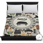 Musical Instruments Duvet Cover (Personalized)