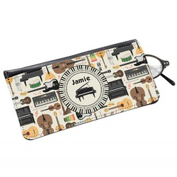 Musical Instruments Genuine Leather Eyeglass Case (Personalized)