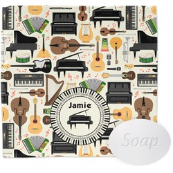 Musical Instruments Washcloth (Personalized)