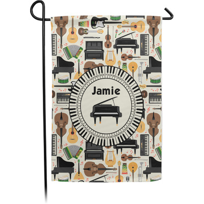 Musical Instruments Garden Flag - Single or Double Sided (Personalized)