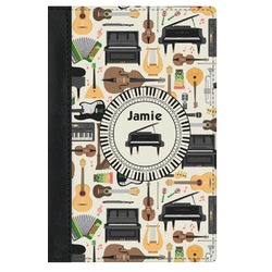 Musical Instruments Genuine Leather Passport Cover (Personalized)