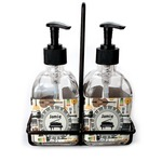 Musical Instruments Soap & Lotion Dispenser Set (Glass) (Personalized)