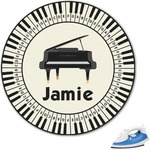 Musical Instruments Graphic Iron On Transfer (Personalized)