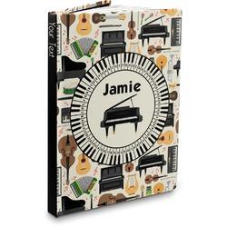 Musical Instruments Hardbound Journal (Personalized)