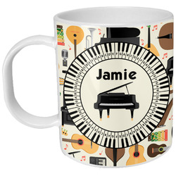 Musical Instruments Plastic Kids Mug (Personalized)