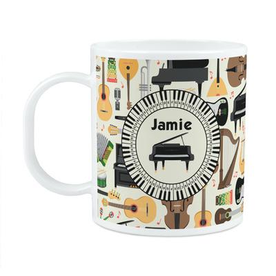 Musical Instruments Plastic Kids Mug (Personalized)