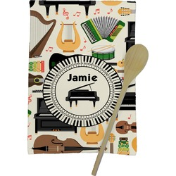 Musical Instruments Kitchen Towel - Full Print (Personalized)