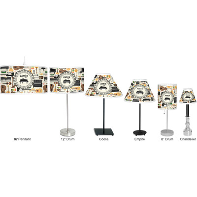 Musical Instruments Drum Pendant Lamp Polyester