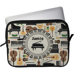 "Musical Instruments Laptop Sleeve / Case - 13"" (Personalized)"