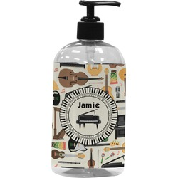 Musical Instruments Plastic Soap / Lotion Dispenser (16 oz - Large) (Personalized)