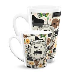 Musical Instruments Latte Mug (Personalized)