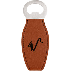 Musical Instruments Leatherette Bottle Opener (Personalized)
