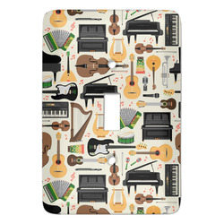 Musical Instruments Light Switch Covers - Multiple Toggle Options Available (Personalized)