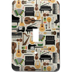 Musical Instruments Light Switch Cover (Single Toggle) (Personalized)