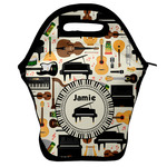 Musical Instruments Lunch Bag w/ Name or Text