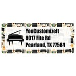 Musical Instruments Return Address Labels (Personalized)