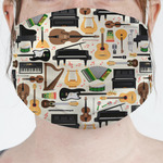 Musical Instruments Face Mask Cover (Personalized)